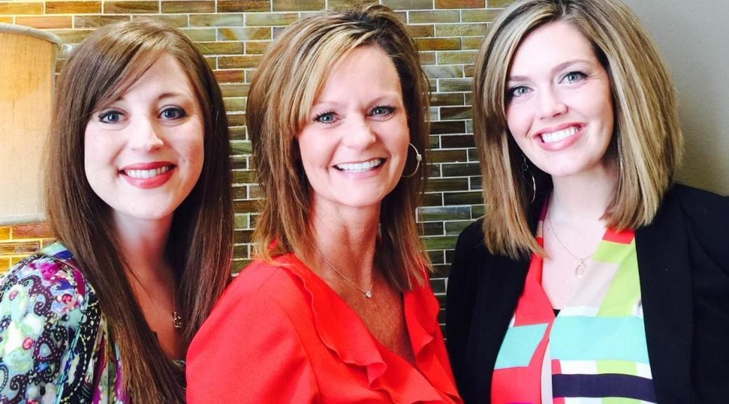 The ladies of Crocker's Jewelers